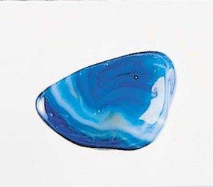 Blue (Dyed) Agate Tumblestones - Large