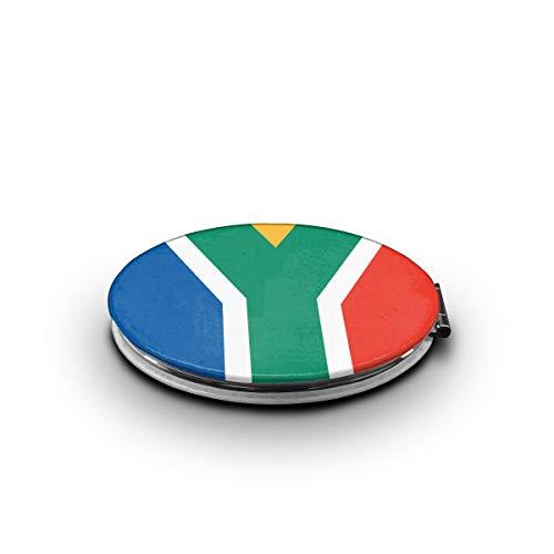 LALABULU Makeup Mirror South Africa Flag Mini Pocket Mirror -
