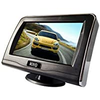 4.3 Lcd Digital Panel Rear-View Monitor With Speaker-2Pack