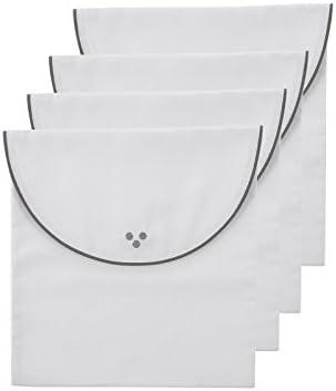 Pack 4 Bolsas primera puesta color Blanco y Gris - Premamá: Amazon.es: Bebé