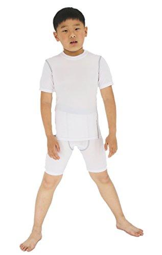 Sanke Boys' Compression Short Sleeve Performance