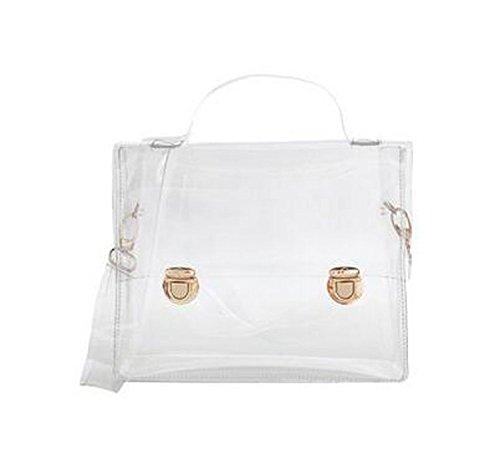 Mengshas Transparent Fashionable Crossbody Shoulder product image