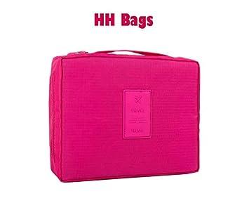1dbd58c3c44d HH Bags Makeup Train Case, Makeup Case Organizer Portable Artist Storage  Bag for Cosmetics,...