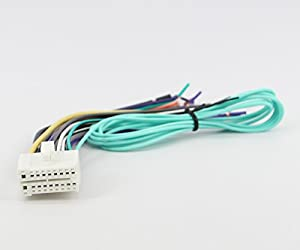 31k yamFzEL._SX300_ amazon com xtenzi harness for clarion radio dvd navigatio speaker clarion nx500 wiring harness at gsmx.co