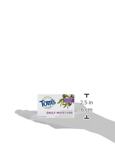 Tom's of Maine Moisturizing Bar Daily, 4-Ounce Bar, Pack of 6 by Tom's of Maine (Image #11)