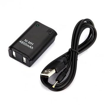 Bheema - Cargador de batería para Mando inalámbrico Xbox 360 ...