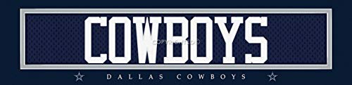 Photo File Dallas Cowboys Wall Poster, Sports Bar/Man Cave Unframed Print Decor 6
