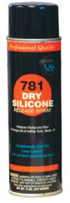 Silicone Spray (12 Cans) - GLU-781 by Miller Supply Inc