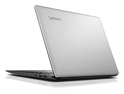 "Lenovo - IdeaPad 100s 14"" Laptop / Intel Celeron / 2GB Memory / 64GB eMMC Flash Storage / Webcam / Windows 10- Silver"