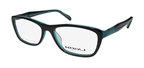 Koali By Morel 2894s For Ladies/Women Designer Full-Rim Shape Flexible Hinges Hand Made Acetate France Eyeglasses/Eyewear (50-14-135, ()