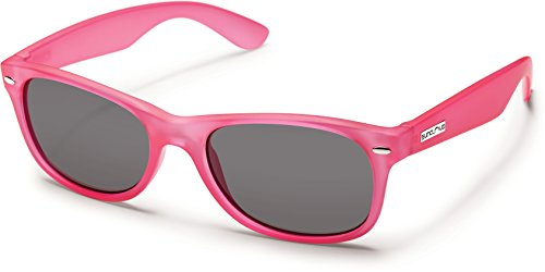 Suncloud Jasmine Polarized Polycarbonate Sunglasses (Frosted - For Sunglasses Faces Suncloud Small