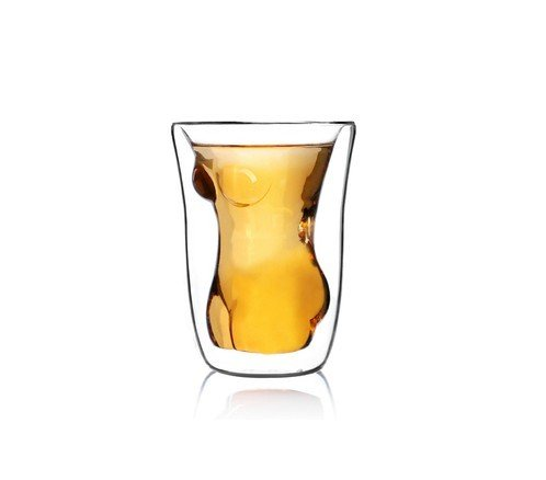 Creative Naked Nude Girl Glass Cup Crystal Clear Cocktail Beer Wine - With Girls Glasses Hot Naked