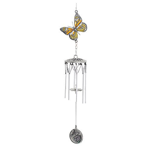 - A Butterfly Kiss Memorial Wind Chime