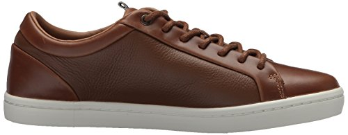 Lacoste Men's Straightset Sneakers Light Brown/Off White Leather 7M7BGG