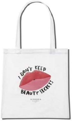 S Sephora I Dont Keep Beauty Secrets - Bolsa de viaje transparente: Amazon.es: Zapatos y complementos