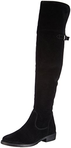 Donna Schwarz Tamaris Black 001 Nero Stivali COx7wA