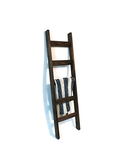 6 Ft Blanket Ladder Decorative Wooden Ladder Quilt Ladder Joanna Chip Gaines Hgtv Style Decor Rustic Pine Wood Blanket Ladder 72 X 20 Solid Wood
