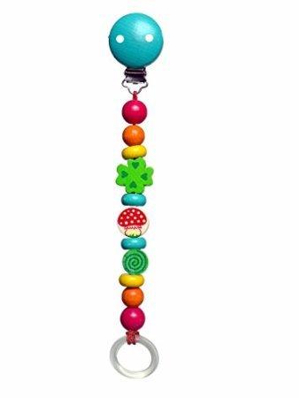 Amazon.com: Hess de madera juguete de bebé Chupete trébol ...