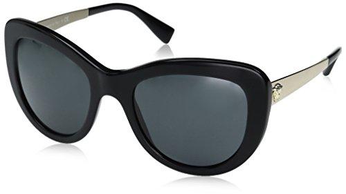 Versace Women's VE4325 Black/Grey by Versace