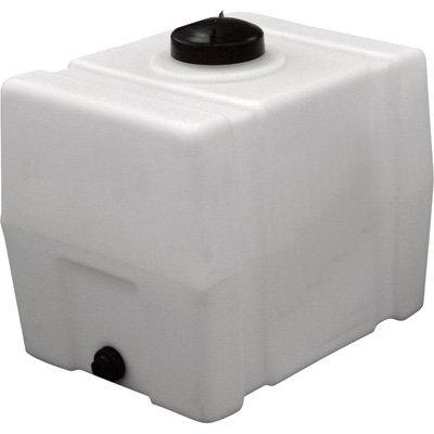 RomoTech Horizontal Square Polyethylene Reservoir, 30 Gallon 20 Gallon Water Tank