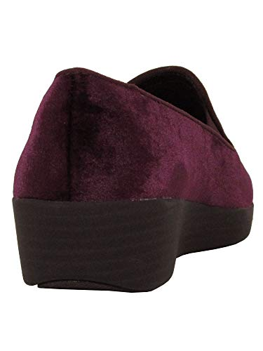 Superskate™ Trade; Loafer Plum Womens Deep FitFlop Velvet 6EnF8c6P