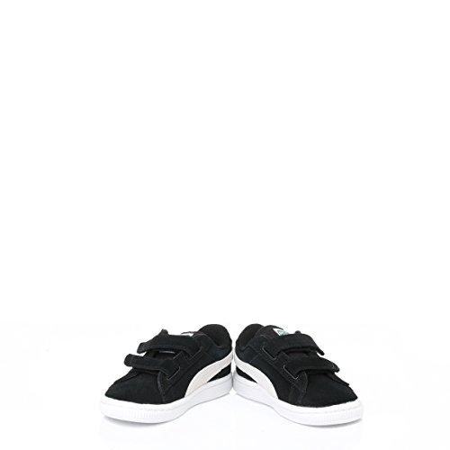 Puma bambino nero Heritage Suede sneaker