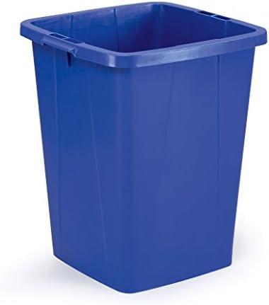 Durable 1800474040 Abfallbehälter Durabin 90 Liter, blau
