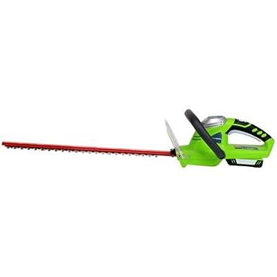 "Greenworks 22302 Compact 20V Electric 20"" Hedge Trimmer"