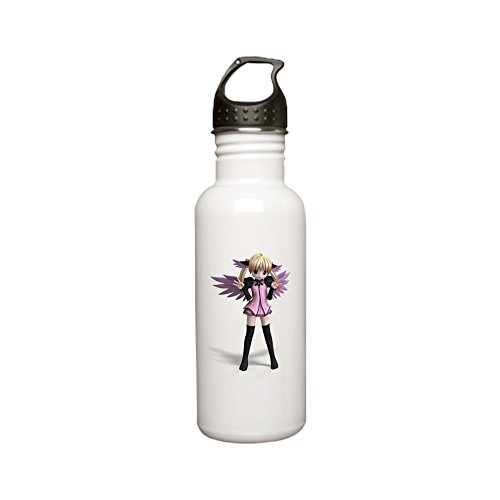 CafePress - Sweet Fantasy Angel Wi Stainless Water Bottle 0 - Stainless Steel Water Bottle, 0.6L Sports ()