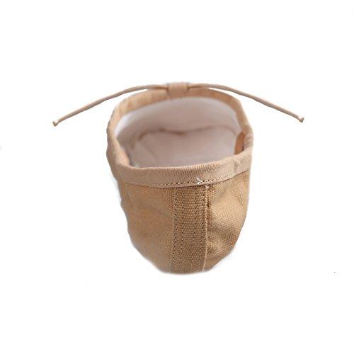 HROYL Zapatos de baile/zapatos de ballet de algodón mujeres ES-CCB el Beige