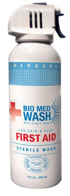 Bio Med Wash 3oz - Sterile First Aid Wash for Skin and Eyes