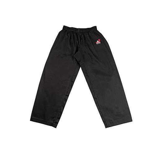 Fuji Mae Pantalon Coupe Droite Noir