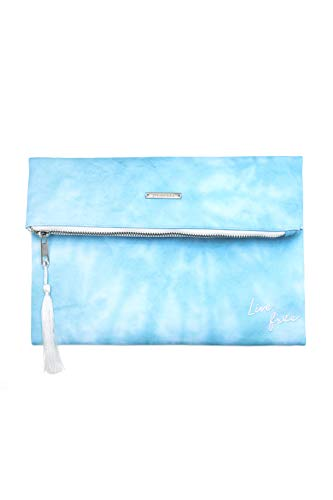 (Pura Vida Tie Dye Clutch- Girls/Womens Purse Beach Bag)