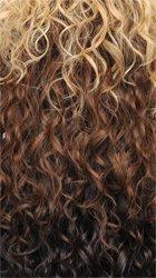 Sensationnel Empress L-Part Lace Front Wig - NIA (DX2633 - MULTIPLE HILIGHT (LIGHT BROWN + HONEY BLONDE + MEDIUM AUBURN + DARK AUBURN + MEDIUM REDDISH BROWN + BLEACHED BLONDE)