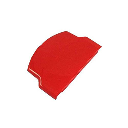 Battery Back Door Cover Case for PSP 2000 2001 3000 3001 Playstation Portable Repair Parts Replacement Red