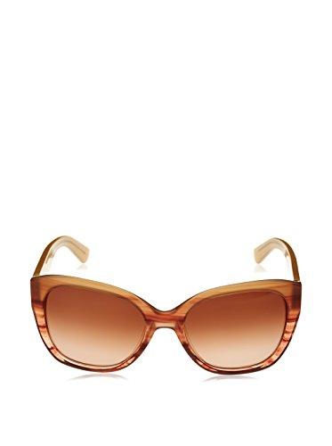 Calvin Klein Unisex Sonnenbrille CK7954S, Braun (Blush Horn), One size