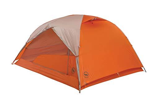 Big Agnes Copper Spur HV UL Backpacking Tent, Grey/Orange, 3 ()