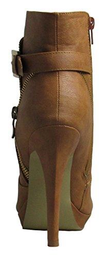 Boots Top Tan Moda Tigger Womens 5 M US D 6 I6w6qXWBr