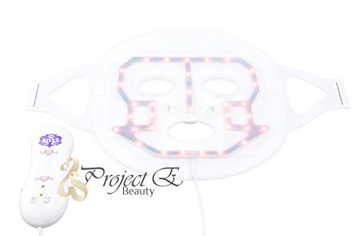 Проект E Красота 4 цвета светодиодные Омоложение кожи Терапия Маска Фотон фотодинамики IPL PDT красоты лица