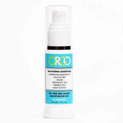 Algues rouges de naturel hydratant pour le visage - ORGO Californie Essentials huile gratuit algues rouges, Gel hydratant - peaux à problèmes