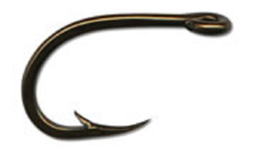 Mustad Classic Beak Live Bait Hook with 3 Extra Strong Special Short Shank (Pack of 50), Bronze, Size 2/0 ()