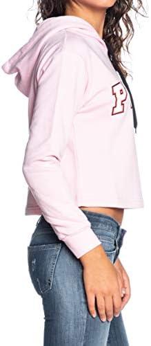 Pyrex Felpa Con Cappuccio Donna rosa pastello