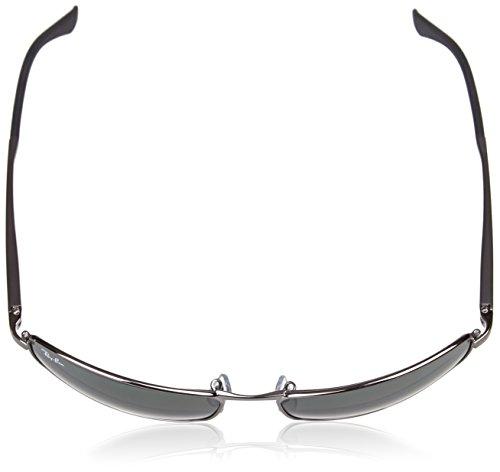 green Gunmetal Sunglasses ban 0rb3498 Rectangular Ray Lens Frame gZvSY