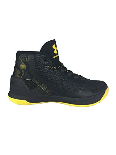 Under Armour Mænds Karry 3 Basketball Sko Camo / Sort / Gul mXykFAHVlb