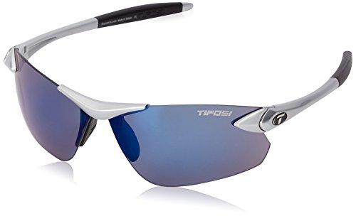 Tifosi Seek Fc Wrap Sunglasses, Metallic Silver, 142 mm (Metallic Sport Sunglasses)