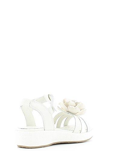 Geox Palmas filles, cuir lisse, sandales