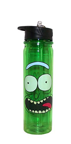 Classic Imports Rick and Morty Pickle Rick Water Bottle by Classic Imports