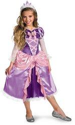 Rapunzel Shimmer Deluxe Costume - Medium - Tangled Princess Rapunzel Shimmer Deluxe Costumes