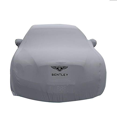 HFFTLH Replacement for car Cover Bentley High-Elastic Cloth Material Close to The Body Mulsanne, Continental, Continental Flying Spur, Speed, GT, GT Speed, GTC Series car car Cover,Gray,Continental
