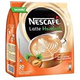 Nestle Nescafe Latte Hazelnut Premix Coffee, 20 X 24g, 480g